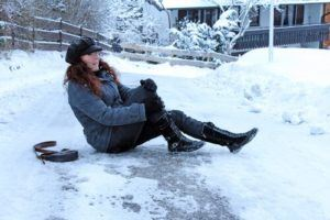Fall Caused by Snow and Ice - Slip and Fall Accident Law Firm