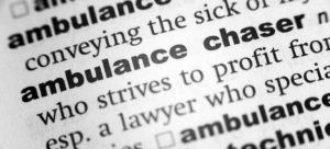 What are case runners and ambulance chasers? personal injury lawyer long island